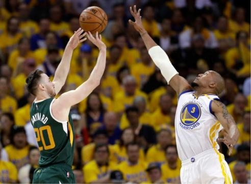 Utah Jazz: Gordon Hayward can't find shooting touch in Game 1 ... - sltrib.com