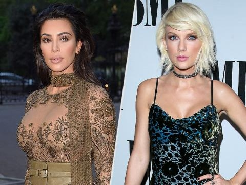 Kim Kardashian Says Taylor Swift Approved Kanye West's 'Famous' Verse - people.com