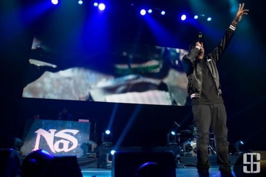Rapper Nas Performing - axs.com