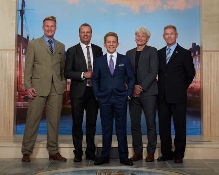 Mr. Rene Jensen, Mr. Bjarke Christensen, Mr. David Miscavige, Mr. Klaus Mygind and Mr. Thøger Berg Nielsen.