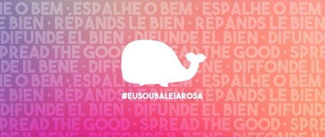 Su objetivo es hacer el bien (Facebook- Baleia Rosa)