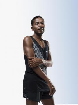 Zersenay Tadese first ever Eritrean Bronze medalist won in 2004, 10,000 meters Athens Olympics - news.nike.com