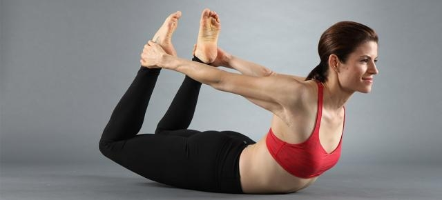 Bow Pose (Dhanurasana): 2nd yoga pose to reduce belly fat