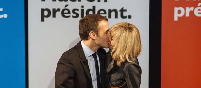 Macron e Brigitte: una storia d'amore da sogno