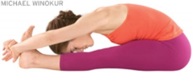 Paschimottanasana (Seated Forward Bend):8th yoga pose to reduce belly fat