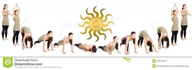 Sun salutation (SuryaNamaskara):6th yoga pose to reduce belly fat