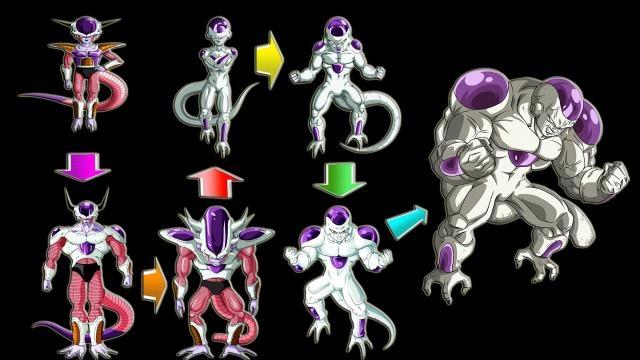Todas las formas de Freezer por Frost Ultimate Warrior