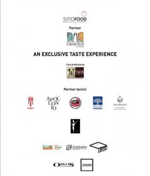 Partner e protagonisti dell' evento Cibartisti- An Exclusive Taste Experience