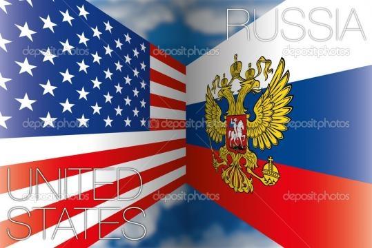 Banderas de Estados Unidos vs Rusia — Vector de stock © frizio ... - depositphotos.com