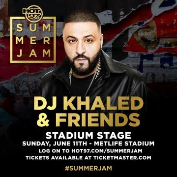Main stage performer Khaled via Hot 97