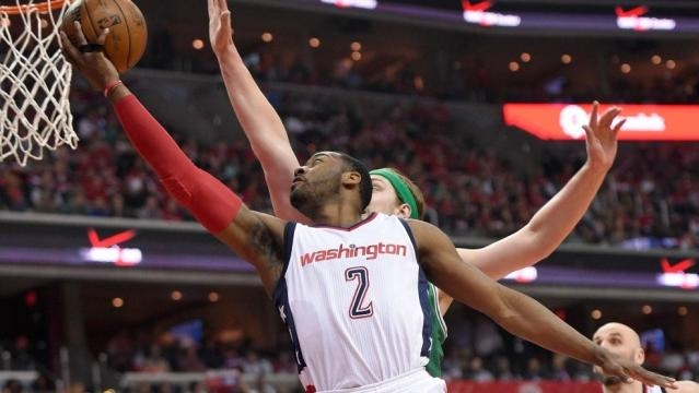 Wizards use 26-0 run to rout Celtics in Game 4, tie series | WJLA - wjla.com