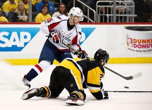 Andre Burakovsky ha sido la clave en la primera línea junto a Oshie y Backstrom. NHL.com.