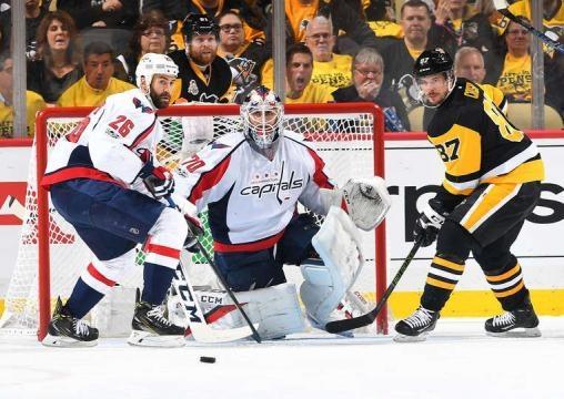 Los Capitals han podido neutralizar a Sidney Crosby en los dos últimos juegos. NHL.com.