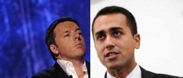 Matteo Renzi e Luigi Di Maio, partita sempre aperta sulla nuova legge elettorale