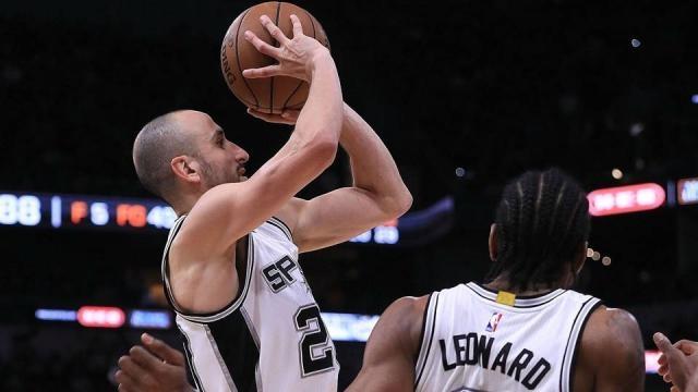 NBA playoffs 2017: Manu Ginobili lifts Kawhi-less Spurs to ... - sportingnews.com