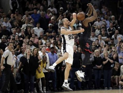Spurs overcome Leonard injury, Harden to beat Rockets in OT - San ... - sfchronicle.com