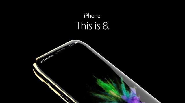 iPhone 8 avrà display OLED curvo e USB-C