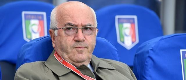 Il presidente della FIGC e Commissario di Lega, Carlo Tavecchio