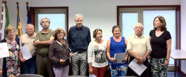 Junta de Freguesia de Curvos recebe certificados