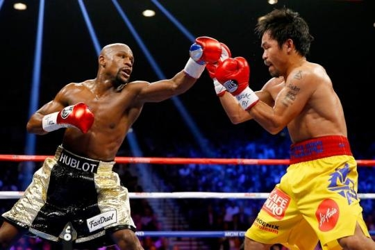Floyd Mayweather vs Manny another previously anticipated fight... - thesun.co.uk