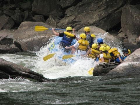 Rafting este deporte extremo se pueden realizar en varias partes de México