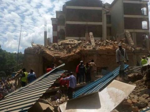Six killed, 43 injured after building collapses in Kisii town ... - the-star.co.ke