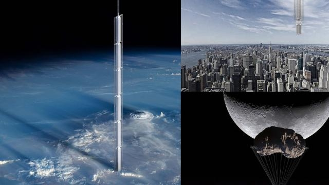 This Ingenious Skyscraper Would Hang from an Asteroid and Float ... - bigthink.com