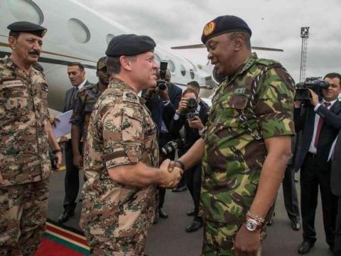 Uhuru, Jordan King close 'Exercise Swift Eagle' military ... - the-star.co.ke