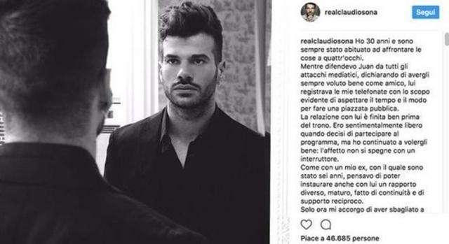 Claudio Sona parla dopo lo scandalo e svela il retroscena con Juan - leggo.it
