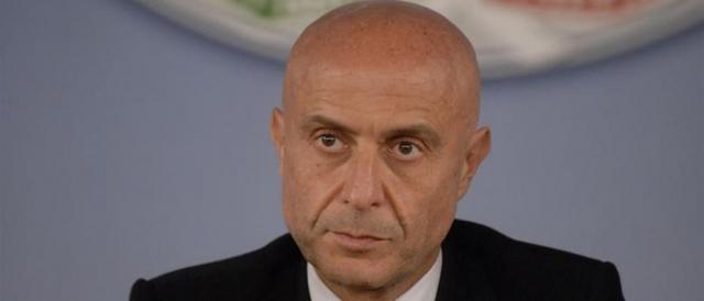 Il ministro dell'Interno, Marco Minniti