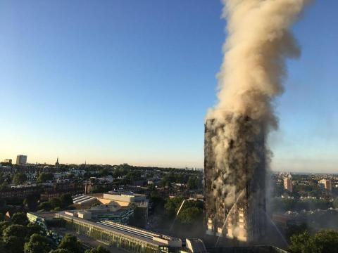 What's happened in the London fire so far, where is Grenfell Tower ... - thesun.co.uk