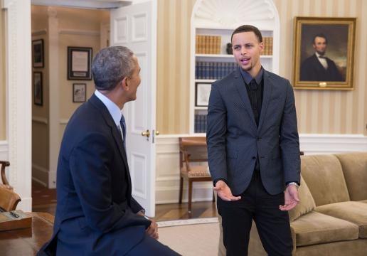 Will the Warriors visit the White House? - Photo via Pete Souza - obamawhitehouse.archives.gov