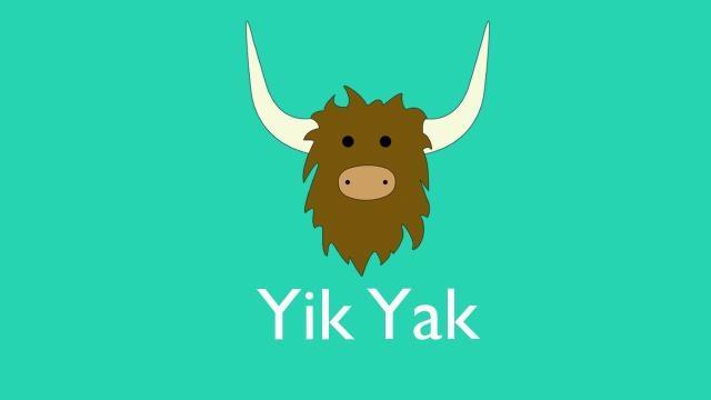Logo dell'applicazione Yik Yak