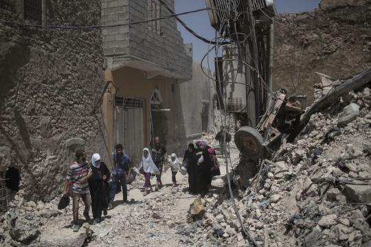 Mosul ya casi liberada del Estado Islámico - nacion.com