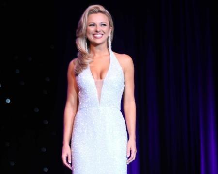 Miss New Jersey 2017 Kaitlyn Schoeffel in evening gown - Photo (c) Joe Whiteko; used by permission