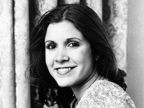 Carrie Fisher, princesse Leia dans