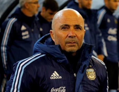 Jorge Sampaoli ya viste la indumentaria de la selección Argentina