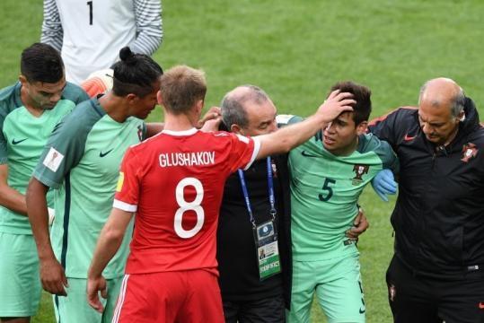 Guerreiro de mala Copa hasta el momento, salió lesionado. Trome.com.