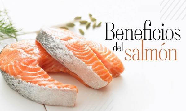 El salmon es fuente de pigmentos importantes para la salud