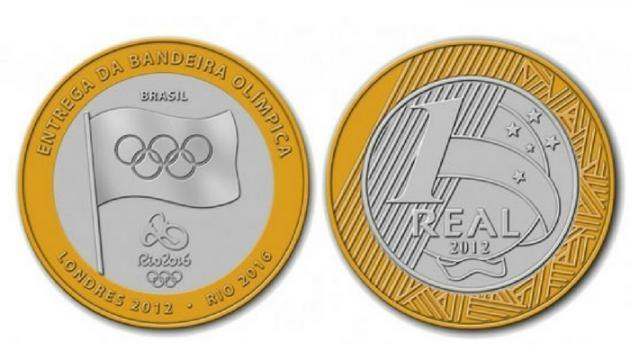 Moeda Olímpica (Imagem: Reprodução/Google)