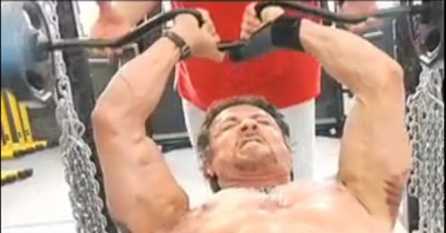 Sylvester Stallone Gears Up for Role in The Expendables   Muscle ... - muscleandfitness.com