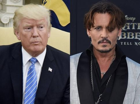 Johnny Depp Makes Controversial Comment About Donald Trump: ''When ... - eonline.com