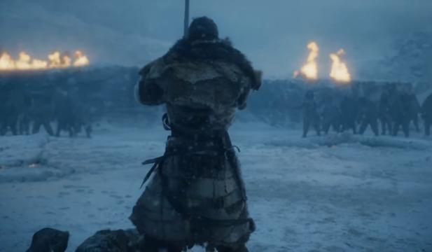Jon Snow el lobo solitario frente a los caminantes
