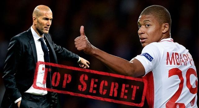La conversación secreta entre Zidane y Mbappé