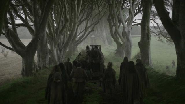 Caravana en la serie de HBO Juego de tronos