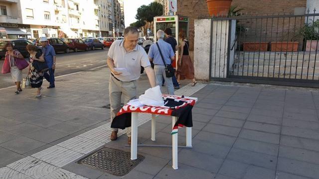 Forza Nuova a piazza S. Emerenziana