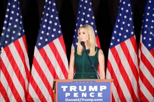 Ivanka Trump stated that she tries to stay away from politics (Image Credit: Michael Vadon/Flickr)