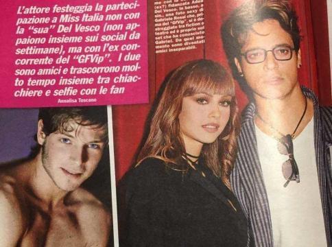 Il settimanale SPY, rivela che Gabriel Garko passerà alcuni giorni di vacanza con Gabriele Rossi.