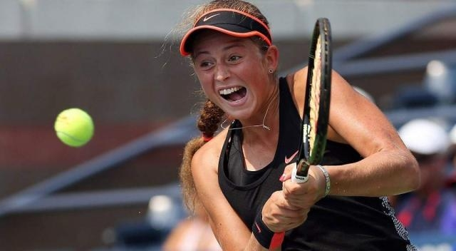 Jelena Ostapenko will fancy her chances of defeating Wozniacki in the French Open quarter final ... - Picture courtesy of newindianexpress.com