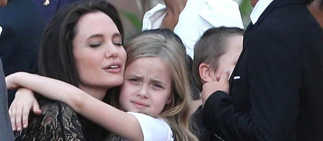 Vivienne, la fille d'Angelina Jolie, perturbée par le divorce de ... - gala.fr